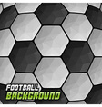 football background triangles text vector image