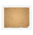 Grunge recycled paper texture vector image