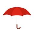 umbrella icon flat style vector image