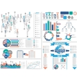 INFOGRAPHICS-DEMOGRAPHY vector image