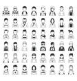 Set of sport characters  eps10 format vector image