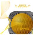 loudspeaker vector image vector image
