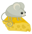 happy mouse vector image
