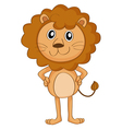 a lion vector image