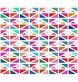 Seamless Colorful Geometric Blocks vector image