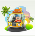 summer vacation trip vector image