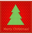 christmas sewing 1 vector image
