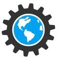 Earth Engineering Icon vector image