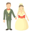 Wedding icon cartoon style vector image