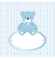 Teddy Bear Background vector image vector image