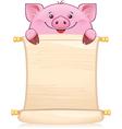 CH boar vector image