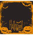 halloween simple background vector image