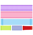 banner fabric 1 vector image