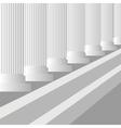 Grey Columns vector image