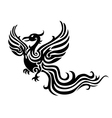 phoenix tattoo vector image