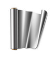 roll of foil vector image vector image