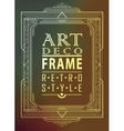 Art deco geometric vector image