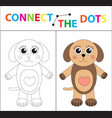 children s educational game for motor skills vector image