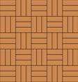 color wooden parquet floor texture background vector image