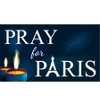 pray for paris Abstract Background Silhouette of vector image