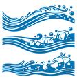 waters design vector image