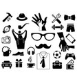 Father day icon set for use design vector image