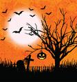 grunge halloween background 2508 vector image