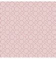 Geometry seamless pattern with concentric circles vector image