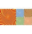 abstract background of star burst eps 10 vector image