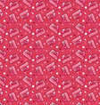 seamless pattern for Valentines Day postcards or vector image