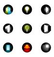 logo design elements set 33 vector image