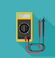 multimeter flat icon vector image