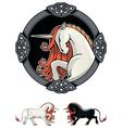 Mythical Unicorn vector image vector image