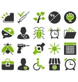 Medical bicolor icons vector image