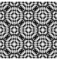 Design seamless monochrome ellipse pattern vector image