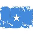 Somalia grunge flag vector image vector image
