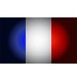 French black flag vector image