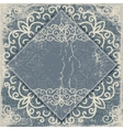 Old worn vintage background card vector image