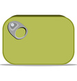 Can of sardines vector image