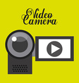 video player icon design vector image