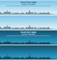 cambridge skyline event banner vector image vector image