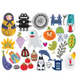 Various items vector image