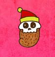 Dead Santa Claus Cartoon vector image