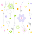 Spring Fresh Pattern vector image