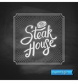 Steak House Special Offer promotion vector image