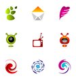 logo design elements set 31 vector image