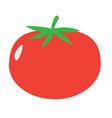 Tomato sign tomato icon on white background flat vector image