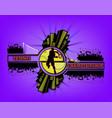 logo tennis championship vector image