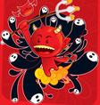 devils son vector image vector image