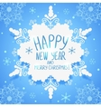 Snowflake wallpaper vector